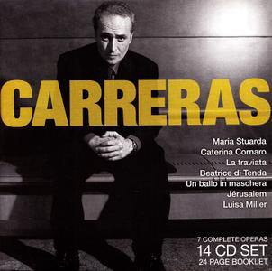 José Carreras - Legendary Performances: 7 complete operas [14CDs] (2007)