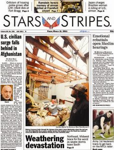 Stars and Stripes European Edition 2011.03.11