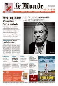 Le Monde du Samedi 22 Septembre 2018