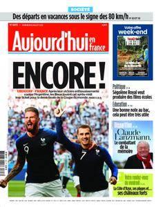 Aujourd'hui en France – 06 juillet 2018
