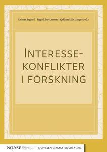 Interessekonflikter i forskning by Ingierd, Helene; Bay-Larsen, Ingrid; Hiis Hauge, Kjellrun