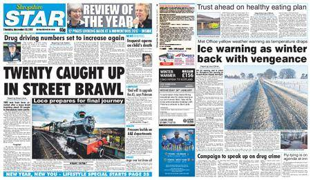 Shropshire Star Shrewsbury Edition – December 28, 2017