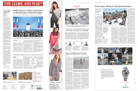 The Globe and Mail – January 16, 2020