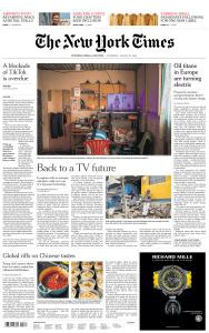 International New York Times - 20 August 2020