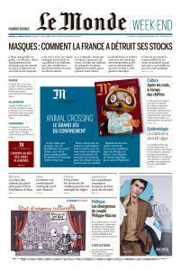 Le Monde du Vendredi 8 et Samedi 9 Mai 2020