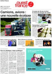 Ouest-France Édition France – 10 juillet 2019