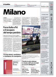 la Repubblica Milano - 20 Marzo 2018