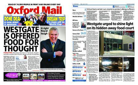 Oxford Mail – June 15, 2018