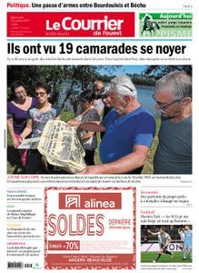 Le Courrier de l'Ouest Nord Anjou – 10 juillet 2019