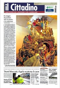 IL CITTADINO LODIGIANO SUD MILANO 24 DICEMBRE 2009