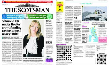 The Scotsman – August 31, 2018
