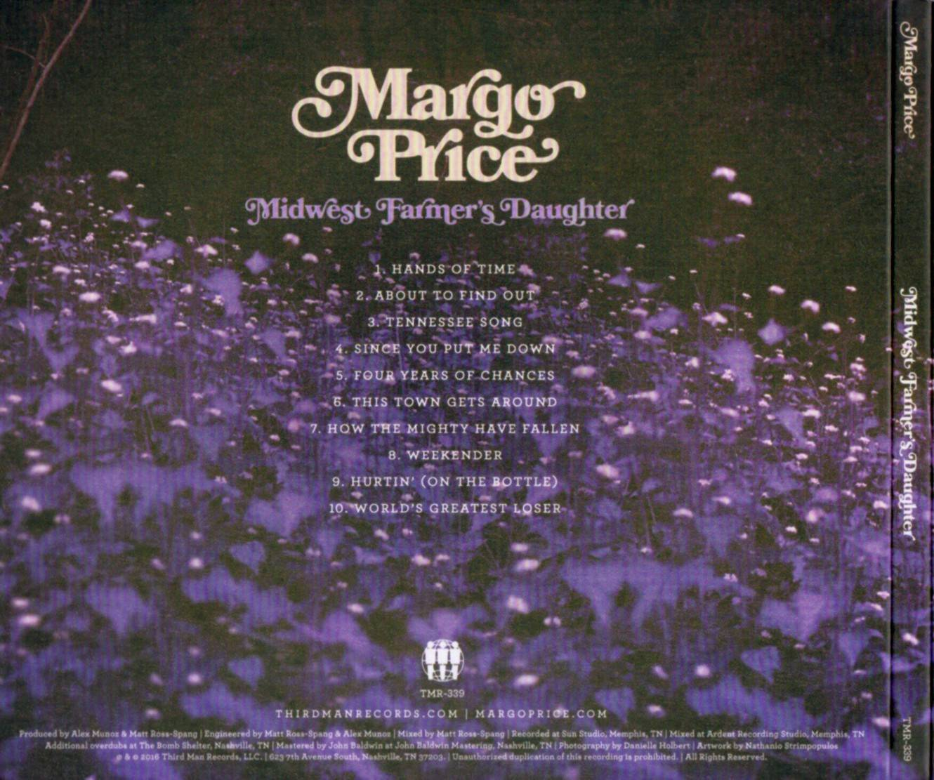 Margo Price - Midwest Farmer's Daughter (2016) {Third Man Records TMR 339}