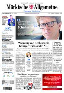 Märkische Allgemeine Zossener Rundschau - 30. November 2018