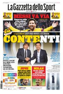 La Gazzetta dello Sport – 26 agosto 2020