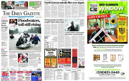 The Daily Gazette – August 29, 2017