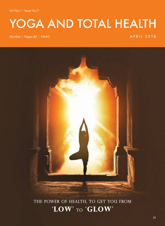 Yoga and Total Health - April 2018
