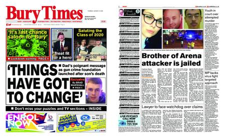 Radcliffe Times – August 27, 2020
