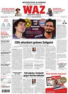 WAZ Westdeutsche Allgemeine Zeitung Wattenscheid - 17. Juni 2019