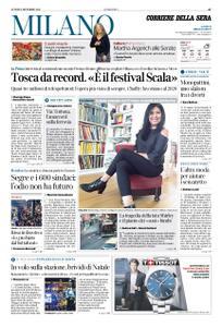Corriere della Sera Milano – 09 dicembre 2019