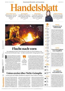 Handelsblatt - 09 August 2021