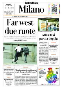 la Repubblica Milano – 14 luglio 2019