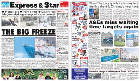 Express and Star City Edition – December 11, 2017