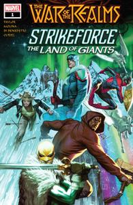 War Of The Realms Strikeforce-The Land Of Giants 001 2019 Oroboros
