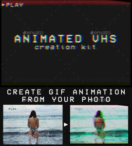 GraphicRiver - Animated VHS Creation Kit