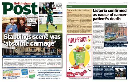 Nottingham Post – October 30, 2019