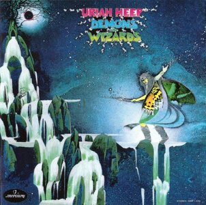 Uriah Heep - Demons And Wizards (1972) {1990, Reissue}