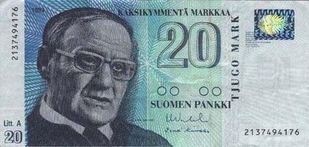 Банкноты всех стран мира! - Финляндия