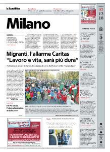 la Repubblica Milano - 2 Dicembre 2018