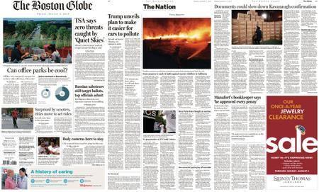 The Boston Globe – August 03, 2018