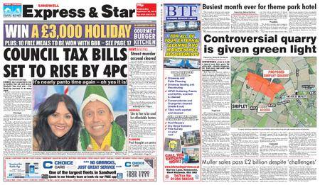 Express and Star Sandwell Edition – September 26, 2018