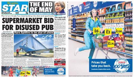 Shropshire Star Last Telford Edition – May 24, 2019