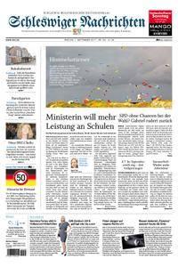 Schleswiger Nachrichten - 01. September 2017