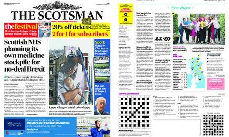 The Scotsman – August 22, 2018