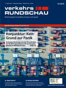 VerkehrsRundschau - 08. Oktober 2019