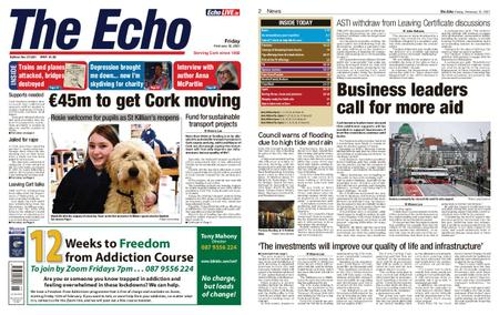 Evening Echo – February 12, 2021