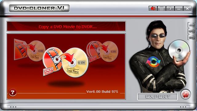 DVD-Cloner VI 6.00 Build 979
