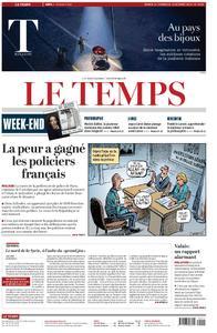 Le Temps - 12 octobre 2019
