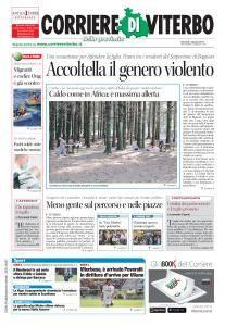 Corriere di Viterbo - 1 Agosto 2017