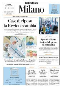 la Repubblica Milano - 4 Giugno 2020
