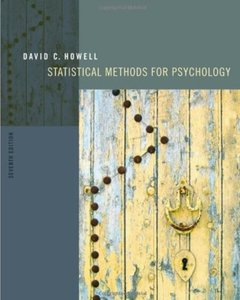 Statistical Methods for Psychology, 7th edition (repost)