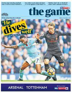 The Times - The Game - 6 November 2017
