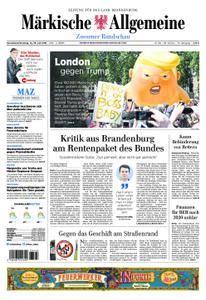 Märkische Allgemeine Zossener Rundschau - 14. Juli 2018
