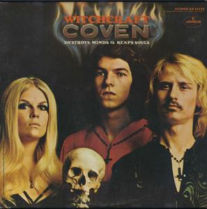 Coven - Witchcraft Destroys Minds And Reaps Souls (1969) [Vinyl Rip 16/44 & mp3-320 + DVD]