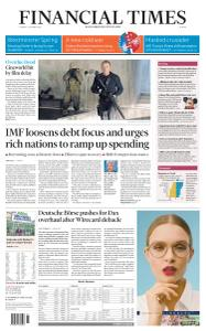 Financial Times Europe - October 6, 2020