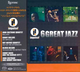 VA - Impulse! 6 Great Jazz (2015) [Esoteric Japan SACD Boxset] (DSD64 + Hi-Res FLAC)