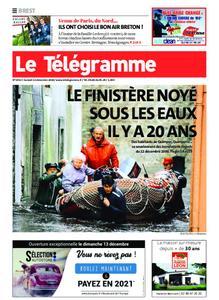 Le Télégramme Brest – 12 décembre 2020